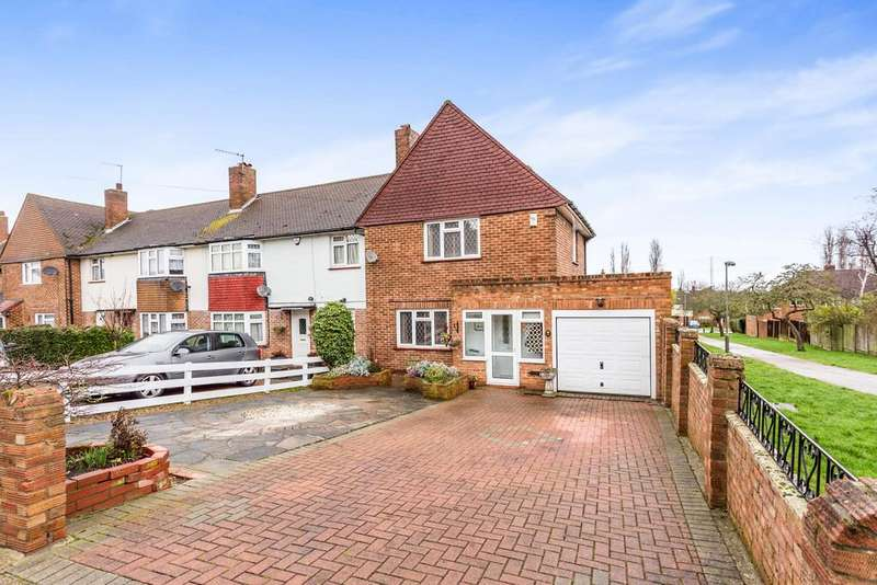 2 Bedrooms End Of Terrace House for sale in Slades Drive, Chislehurst