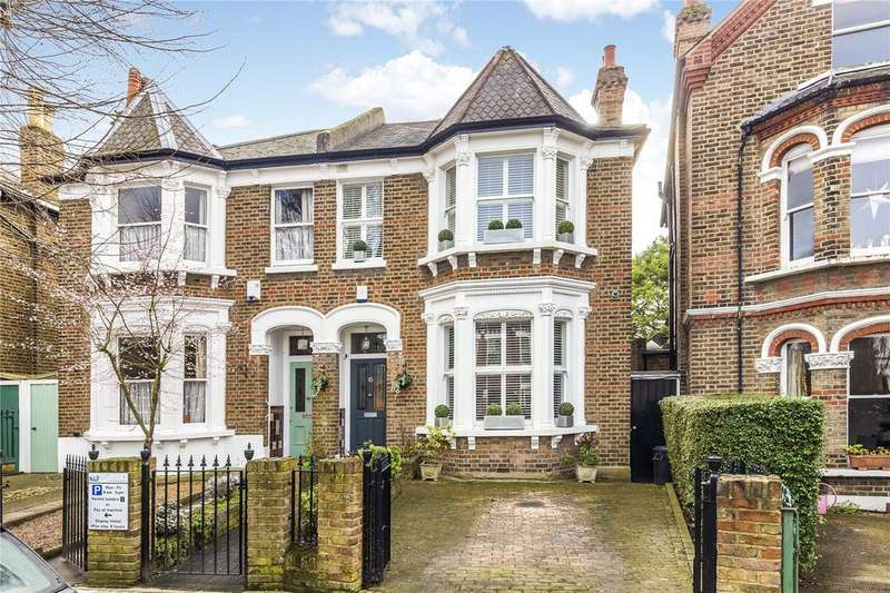 5 Bedrooms Semi Detached House for sale in Rylett Crescent, Ravenscourt Park, London, W12