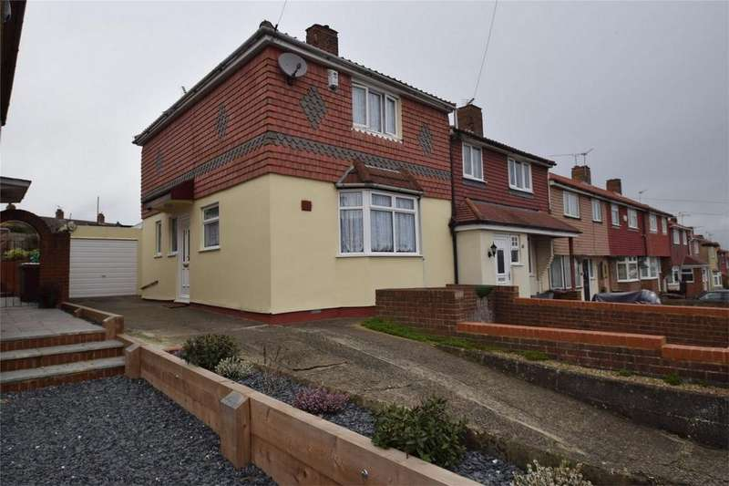 3 Bedrooms End Of Terrace House for sale in Copperfield Road, Rochester, Kent