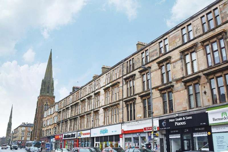 2 Bedrooms Flat for rent in Great Western Road, Flat 2/3, Woodlands, Glasgow, G4 9EJ