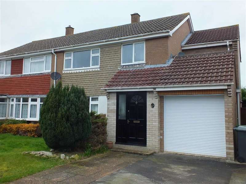 4 Bedrooms Semi Detached House for sale in College Gardens, North Bradley, Trowbridge, Wiltshire, BA14