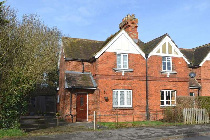 2 Bedrooms Semi Detached House for sale in West End, Cholsey, Oxfordshire, OX10 9LW