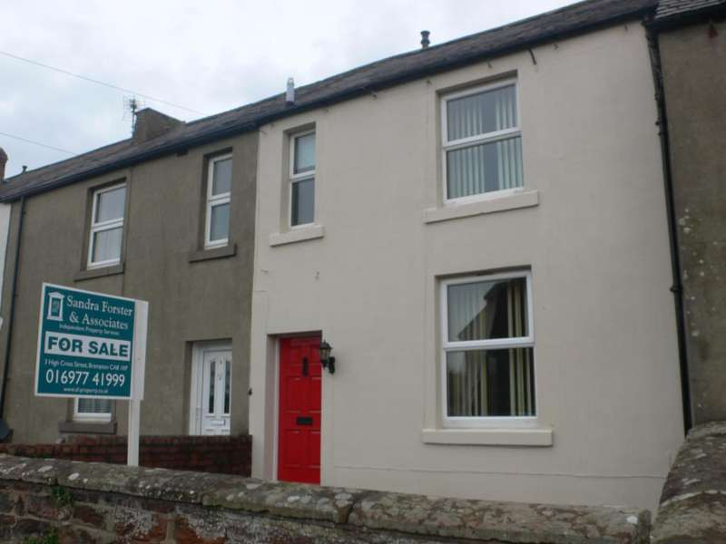2 Bedrooms Terraced House for sale in 4 Brisco view, Carlton, Carlisle CA1