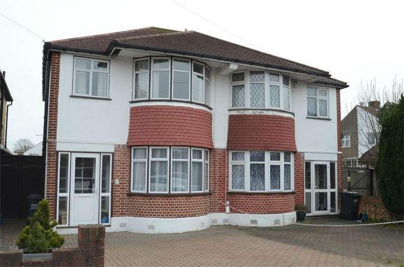 3 Bedrooms Semi Detached House for sale in Elstan Way, Shirley, Croydon, Surrey