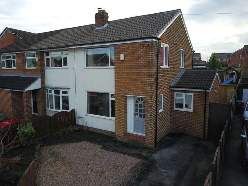 3 Bedrooms Semi Detached House for sale in Hillhead Drive Birstall Batley WF17 0PB