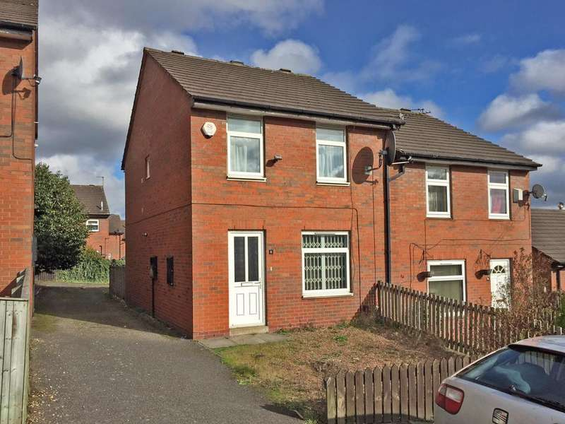 3 Bedrooms Semi Detached House for sale in Melville Close, Woodhouse, Leeds 6