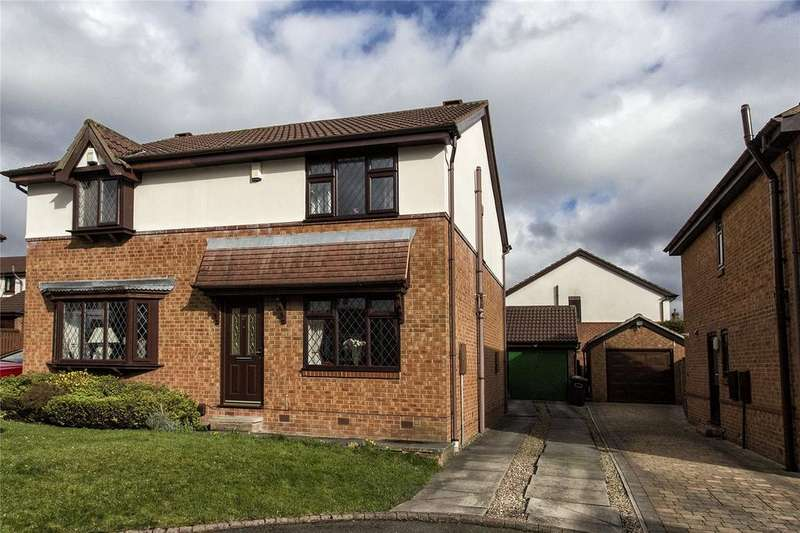 3 Bedrooms Semi Detached House for sale in The Coppice, Mirfield, West Yorkshire, WF14