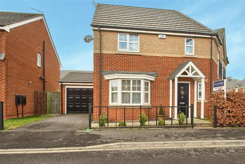 3 Bedrooms Semi Detached House for sale in Wensleydale Gardens, Thornaby