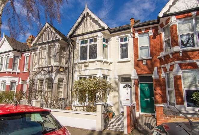 4 Bedrooms Terraced House for sale in Hazledene Road, Chiswick