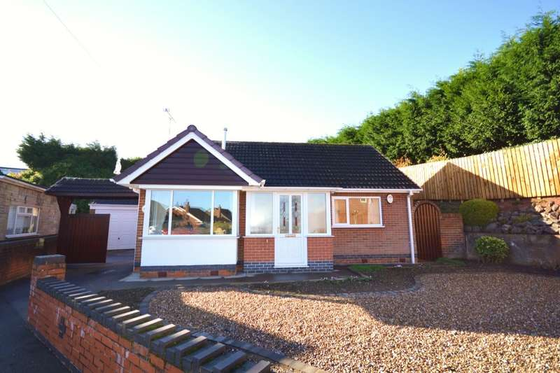 2 Bedrooms Detached Bungalow for sale in Malmesbury Avenue, Midway, Swadlincote, DE11