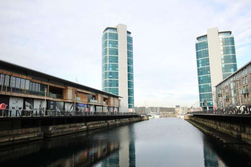 1 Bedroom Flat for sale in Marina Point West Chatham Quays Dock Head Road, Chatham, ME4