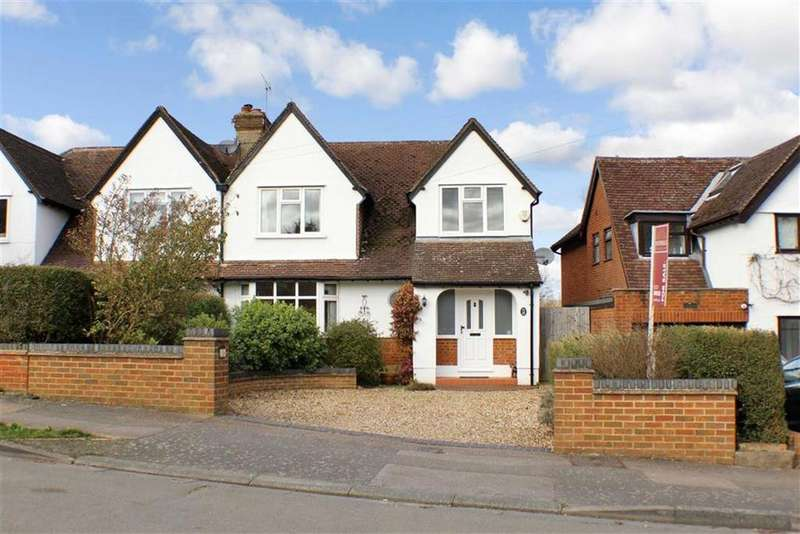4 Bedrooms Semi Detached House for sale in Ragged Hall Lane, St Albans, Hertfordshire