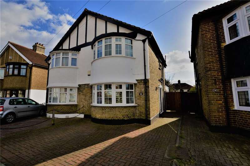 3 Bedrooms Semi Detached House for sale in Budleigh Crescent, Welling, Kent, DA16