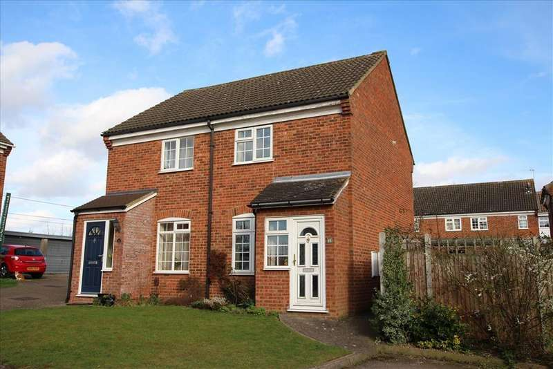 2 Bedrooms Semi Detached House for sale in Bramley Close, Baldock, SG7