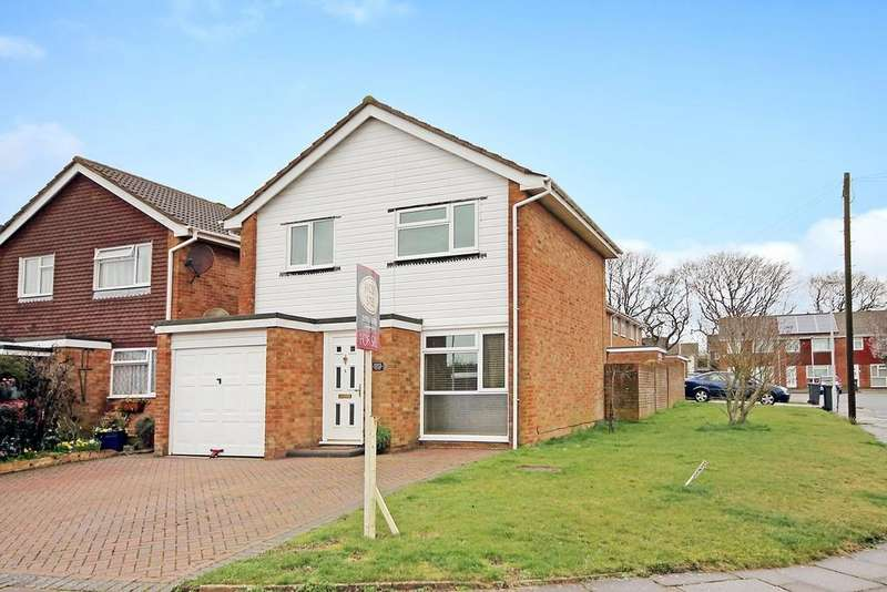 3 Bedrooms Detached House for sale in Taw Close, Worthing BN13 3PQ
