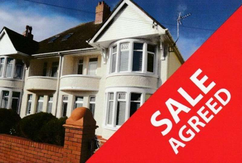 3 Bedrooms Semi Detached House for sale in EITHEN PLACE, PORTHCAWL, CF36 3BX