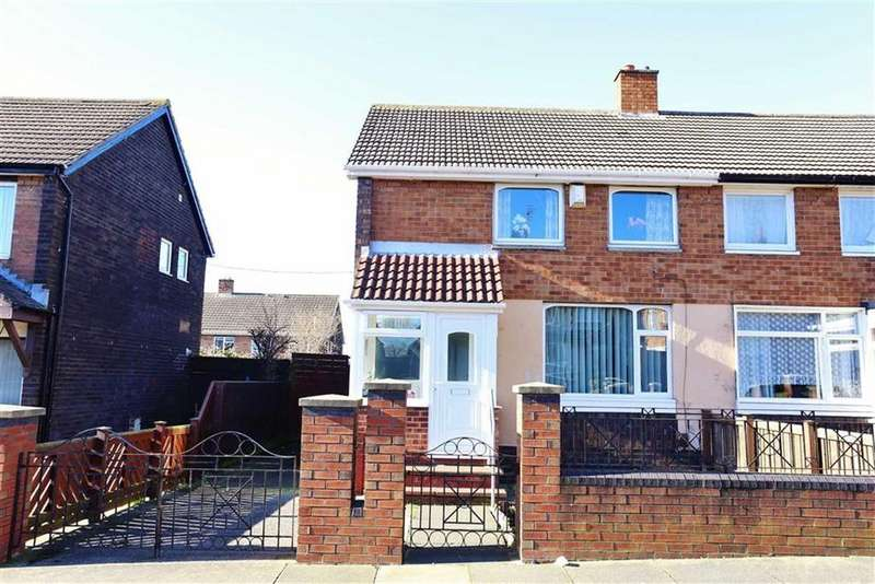 2 Bedrooms Semi Detached House for sale in Bradman Street, Town End Farm, Sunderland, SR5