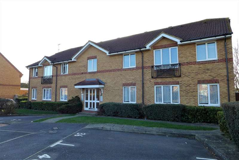 1 Bedroom Flat for sale in Trevithick Close, Feltham