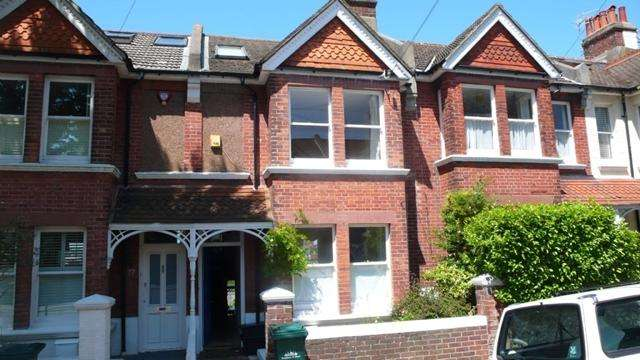 4 Bedrooms Terraced House for rent in Lowther Road, Brighton, East Sussex.