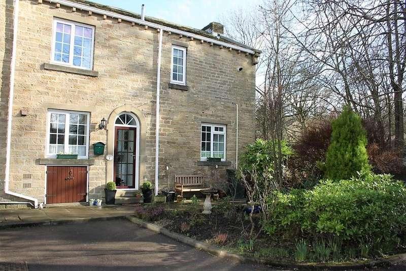 3 Bedrooms Terraced House for sale in Inkerman Court, Denby Dale, Huddersfield, HD8 8XA