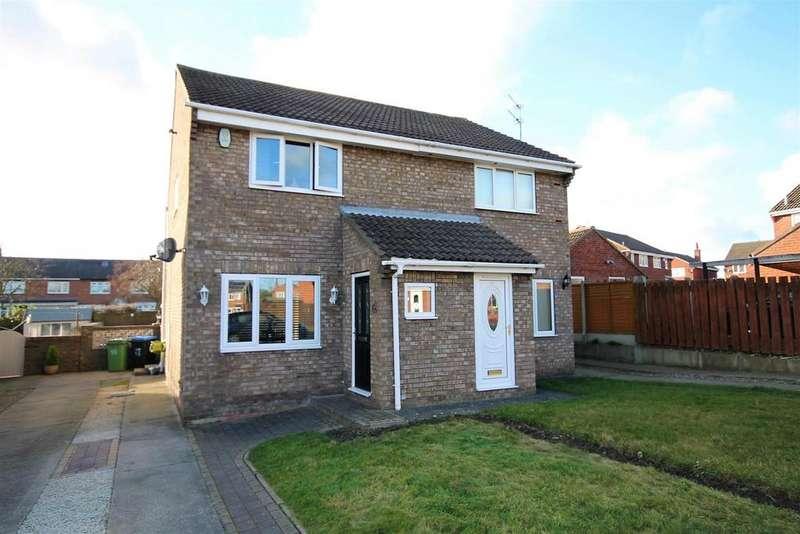 2 Bedrooms Semi Detached House for sale in Granville Drive, Chilton, Ferryhill