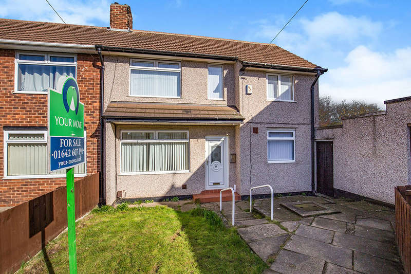 2 Bedrooms Semi Detached House for sale in Ramsbury Avenue, Stockton-On-Tees, TS19