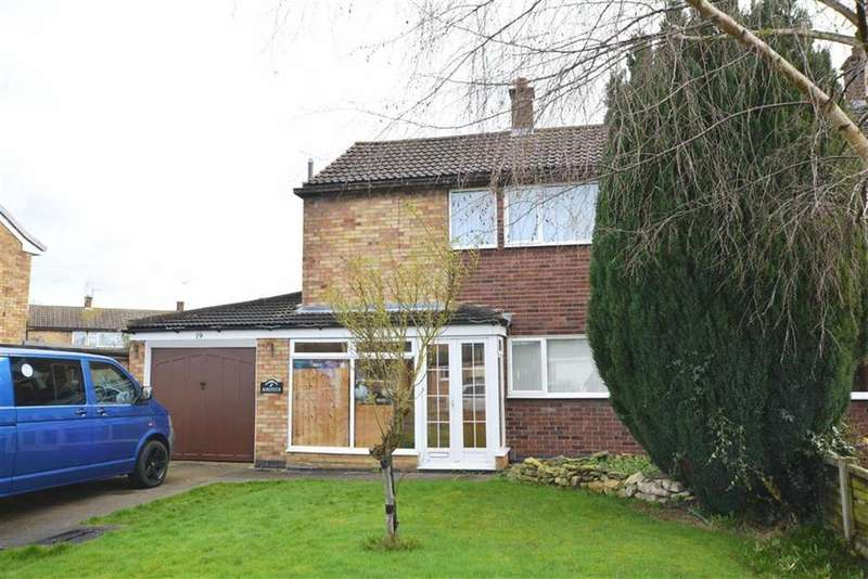 3 Bedrooms Semi Detached House for sale in Tennyson Road, Balderton, Nottinghamshire, NG24