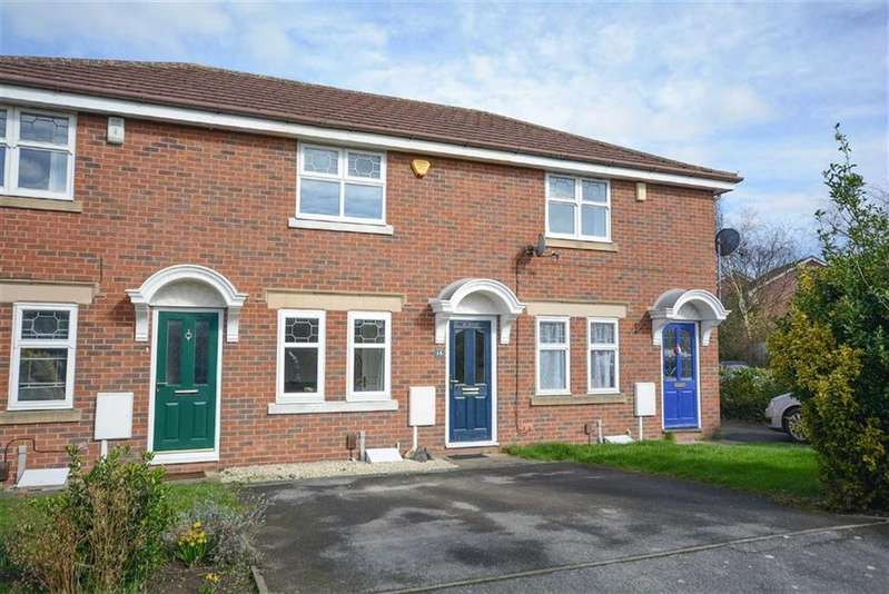 2 Bedrooms Town House for sale in Rossett Close, Gamston