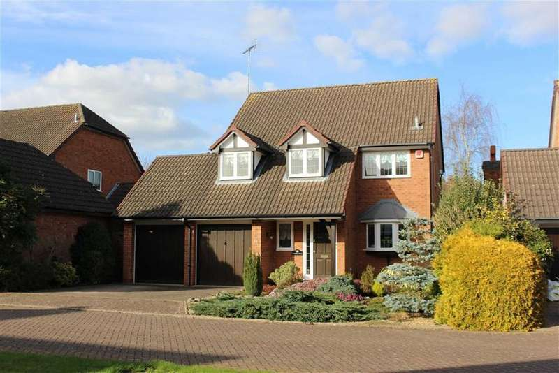 4 Bedrooms Detached House for sale in Spilsbury Close, Leamington Spa, CV32
