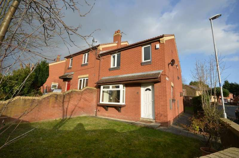 3 Bedrooms Semi Detached House for sale in Farm Hill Way, Leeds