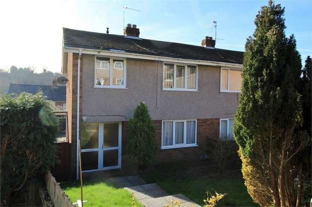 3 Bedrooms Semi Detached House for sale in Farmwood Close, NEWPORT