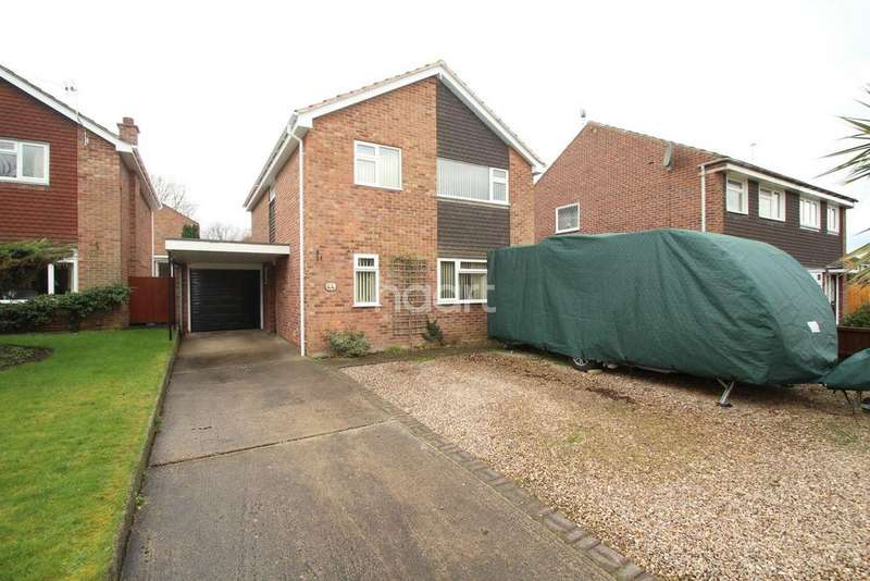 4 Bedrooms Detached House for sale in Northwood Drive, Shepshed