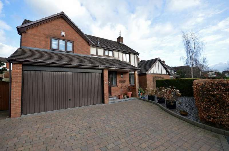 4 Bedrooms Detached House for sale in The Copse, Marple Bridge, Cheshire