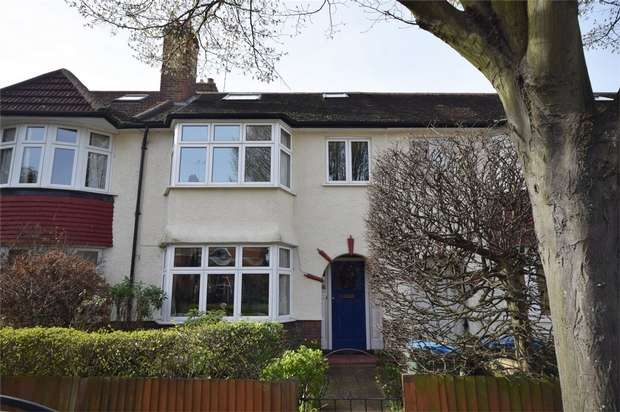 4 Bedrooms Terraced House for sale in Strafford Road, Twickenham