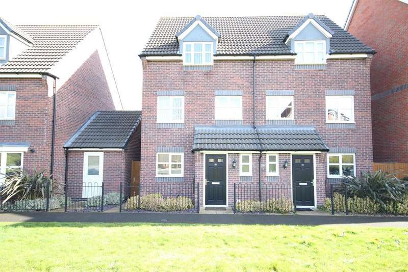 3 Bedrooms Semi Detached House for sale in College Green Walk, Mickleover, Derby