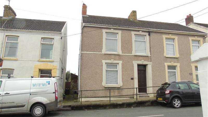 3 Bedrooms Semi Detached House for sale in Stepney Road, Llanelli, Carmarthenshire, SA16