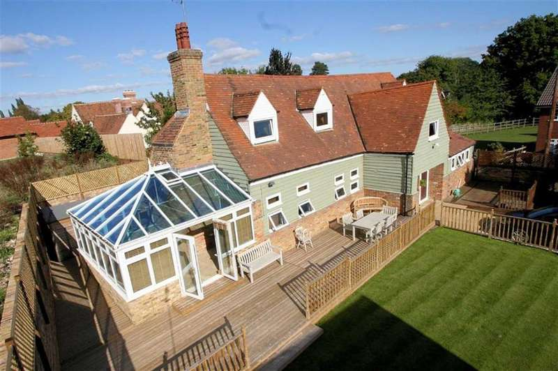 4 Bedrooms Detached House for sale in Bragbury Lane, Bragbury End, SG2 8TJ