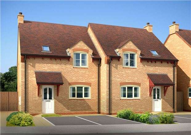 3 Bedrooms Semi Detached House for sale in Plot 36, The Cranham, Pennycress Fields, Banady Lane, Stoke Orchard, Chelt, Glos, GL52 7SJ