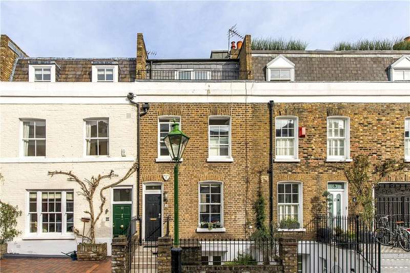 3 Bedrooms Terraced House for sale in Queensdale Place, Holland Park, London, W11