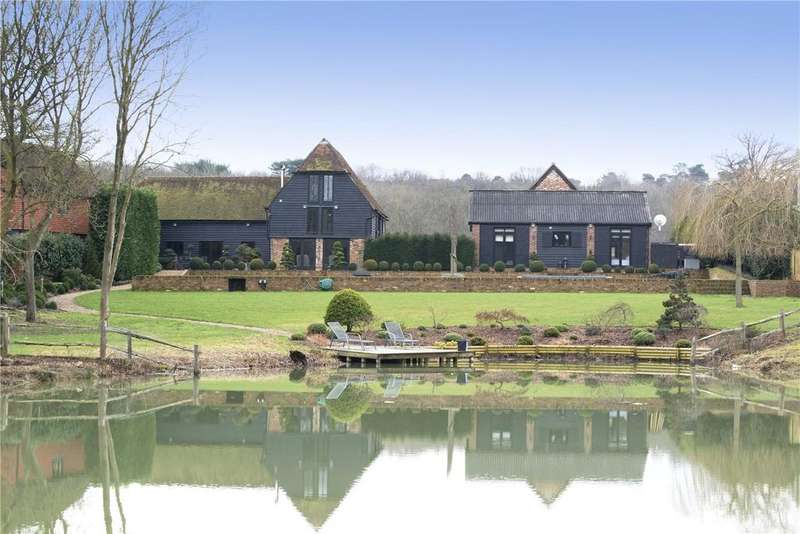 5 Bedrooms Unique Property for sale in Chiddingstone, Edenbridge, Kent, TN8