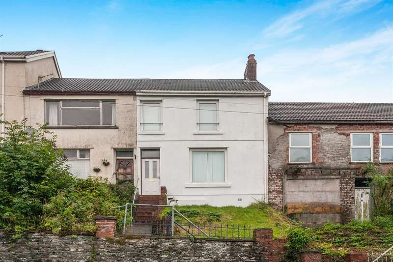 3 Bedrooms Terraced House for sale in Pleasant View, Treharris