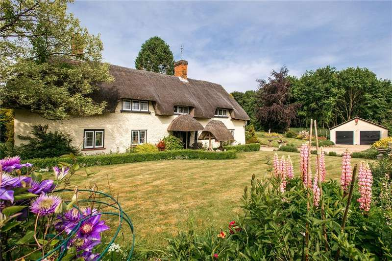 4 Bedrooms Detached House for sale in East Cholderton, Hampshire