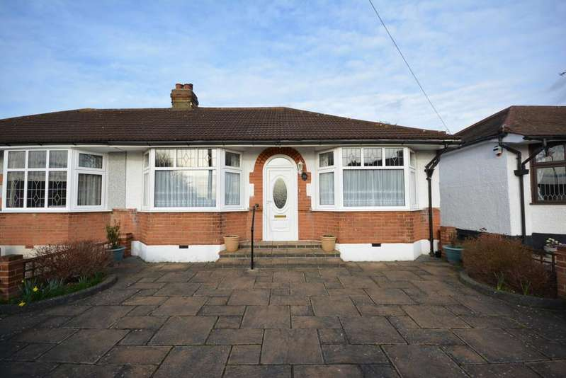 2 Bedrooms Semi Detached Bungalow for sale in Macdonald Avenue, Ardleigh Green, Hornchurch RM11