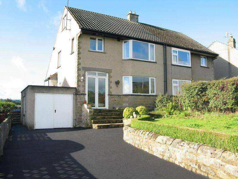 3 Bedrooms Semi Detached House for sale in Low Bentham Road, High Bentham, Nr Lancaster LA2