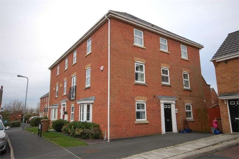 3 Bedrooms End Of Terrace House for sale in Womack Gardens, Sutton Heath, St Helens, Merseyside