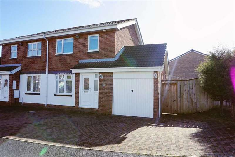 3 Bedrooms Semi Detached House for sale in Home Park, Parklands, Wallsend, NE28