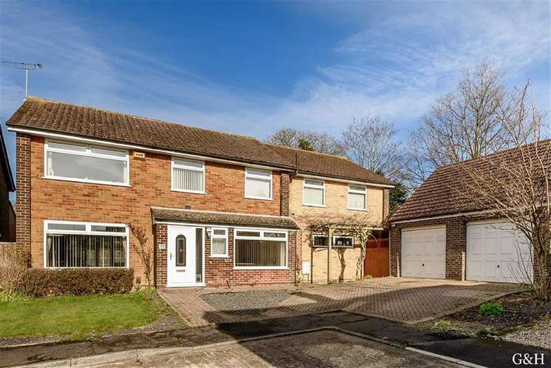 5 Bedrooms Detached House for sale in Studio Close, Kennington, Ashford