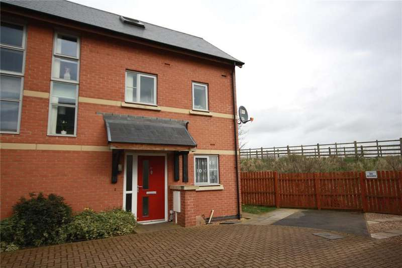 3 Bedrooms End Of Terrace House for sale in Furlong Way, Holdingham, Sleaford, Lincolnshire, NG34