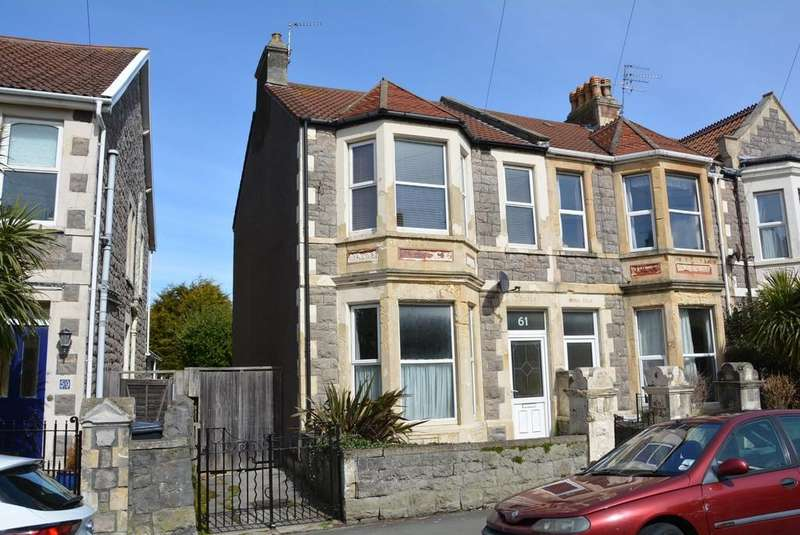 3 Bedrooms Semi Detached House for sale in Clifton Road, Weston-super-Mare