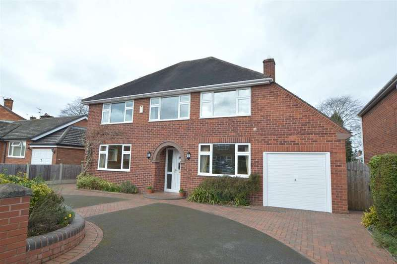 4 Bedrooms Detached House for sale in 16 New College Road, Shrewsbury, SY2 6PU